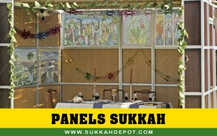 Panels Sukkah (with schach)