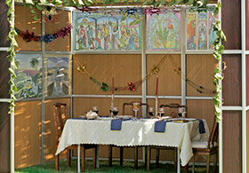 The New Panel Sukkah